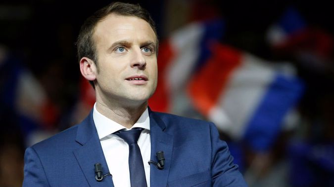 Macron was slammed a day earlier for keeping Benalla on the job. Photo / Getty Images