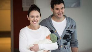 PM Jacinda Ardern's plans to juggle motherhood and her job have been questioned by an Australian author. (Photo / Jason Oxenham)