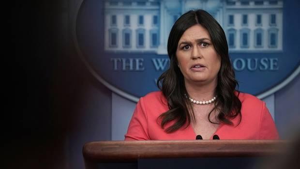Sarah Huckabee Sanders (Photo: Getty Images)