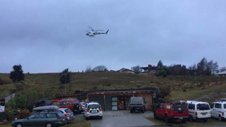 Wreckage spotted in search for overdue helicopter