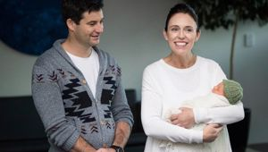 PM Jacinda Ardern's plans to juggle motherhood and her job have been questioned by an Australian author. Photo / Jason Oxenham