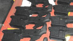 Police have now confirmed the firearm parts were mistakenly left behind. (Photo / Supplied)