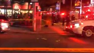 Fourteen people have been shot after mass shooting in Toronto. Photo/ File.