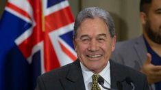 Winston Peters suggests big kangaroo for Aussie flag