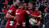 The Crusaders host South Africa's Lions in next weeks final