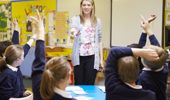 "many primary schools run ""modern learning environments"" with several classes in the same room. Photo / File"