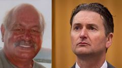 Quinton Winders, right, is appealing his conviction for the murder of George Taiaroa, left. (Photos / File)