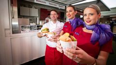 Virgin Australia's Kiwi response to Air NZ's 'impossible burger'. Video \ Virgin