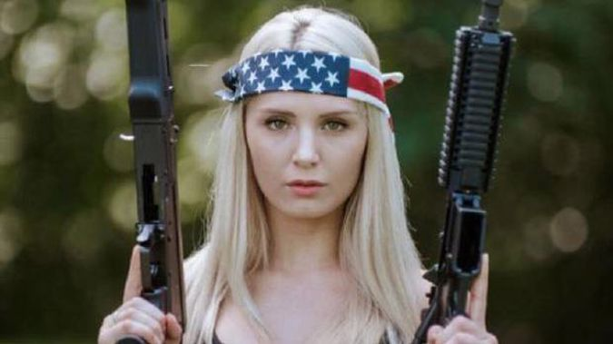 Controversial speaker Lauren Southern (pictured) and Stefan Molyneux could still have their visas banned before they arrive in New Zealand. Photo \ Supplied