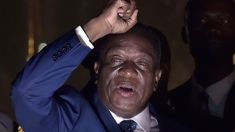Zimbabwe president wins 1st post-Mugabe election