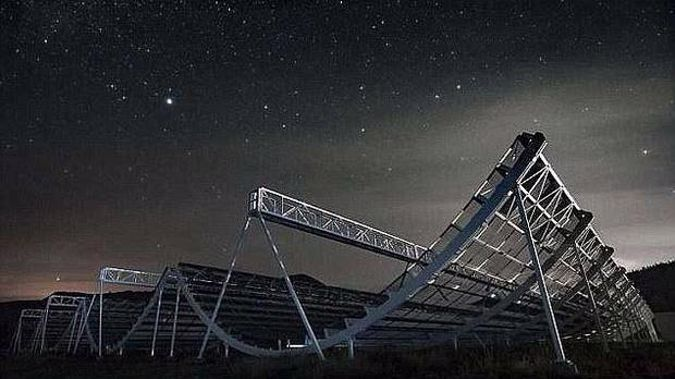 The CHIME telescope picked up a low frequency fast radio burst (FRB), the first it has ever recorded. (Photo / File)