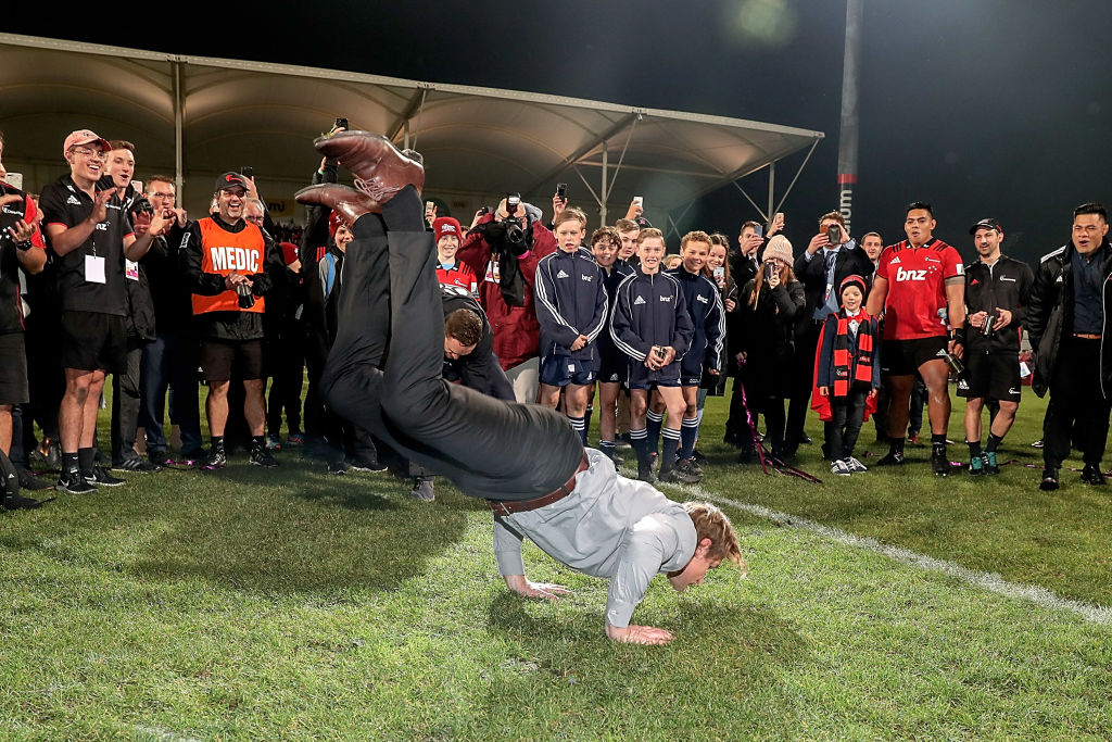 Scott Robertson on the moments that made the Crusaders champions