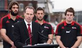 Hamish Riach is leaving the Crusaders after 17 years as CEO