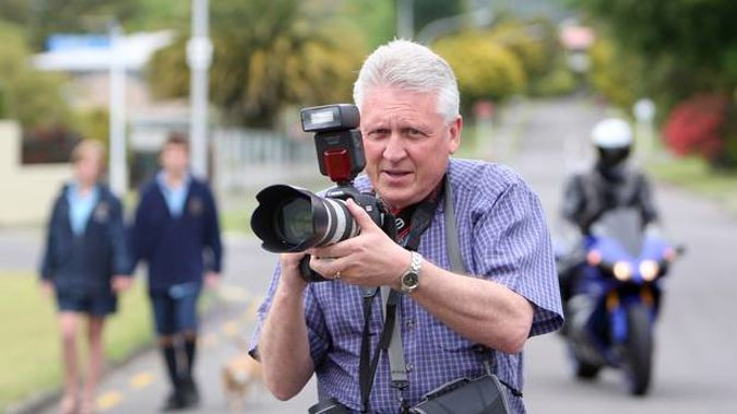 Rotorua freelance photographer Peter Graney is in Bali where a deadly quake has struck. Photo/file