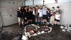 Vandals plague crash site where two Auckland teen were killed