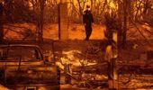 California has a big history of big fires. Photo / AP