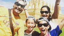 Kiwi family sells everything to travel the world indefinitely