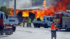 A fire has caused chaos at the Port of Tauranga.