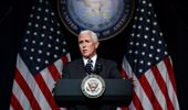 Mike Pence made the announcement earlier today. (Photo / AP)