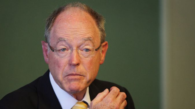 Don Brash was barred from speaking at a Massey University event this week. (Photo / NZ Herald)