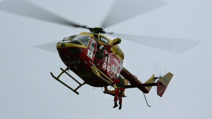 Westpac Rescue Helicopter Trust said it was called to the case at 7.51pm last night. (Photo: Getty)