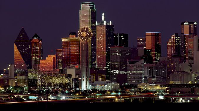 """Not dissimilar to the striking impression of Las Vegas improbably rising out of the desert, as you drive into Dallas across the pancake-flat Texas prairieland, The """"Big D,"""" beckons as glittering, swanky skyscrapered city. Photo \ Mike Yardley"""