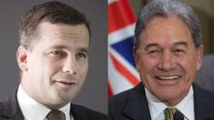 Winston Peters: David Seymour using NZ First policies 'desperate'
