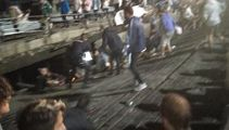 Pier collapses at music festival in Spain, 300 injured