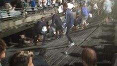 Pier collapses at music festival in Spain, 260 injured