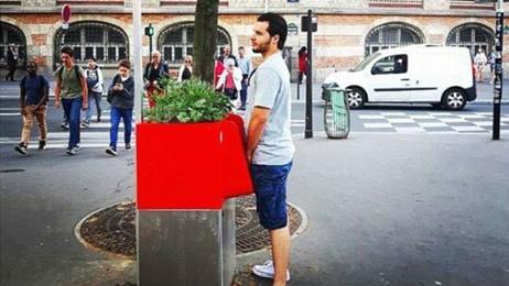 Street-facing urinals kick up a stink in Paris
