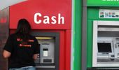 The last remaining cash machine was pulled from the local petrol station a few days ago. Photo / NZ Herald