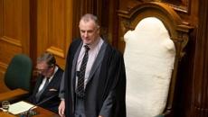 Speaker Trevor Mallard digging into National leader Simon Bridges' expenses leak