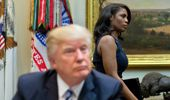 President Trump and his former advisor Omarosa are having a public falling out. (Photo / AP)