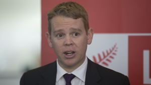Chris Hipkins says the comment was disrespectful. (Photo / NZ Herald)