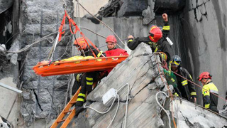 People forced from their homes after Italy bridge disaster