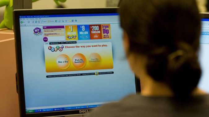 The online MyLotto system was introduced in 2008 and now made up 17 per cent of total sales. Photo / file