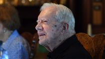 The un-celebrity president: Jimmy Carter shuns riches, lives modestly in his Georgia hometown
