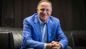 Former Prime Minister John Key offered up a week's stay at his multi-million dollar home in Hawaii at a charity event for Auckland detective Sarah Cato on Saturday night. Photo / Greg Bowker