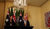 Jacinda Ardern first met with Malcolm Turnbull last year. (Photo / Getty)