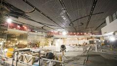 The airport is undergoing major renovations. (Photo / NZ Herald)