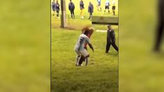 Spectators fight with players in Auckland premier football match