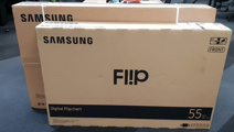 SAMSUNG FLIPS OUT