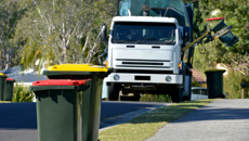 Marcus Lush: When is it okay to use your neighbour's rubbish bin?