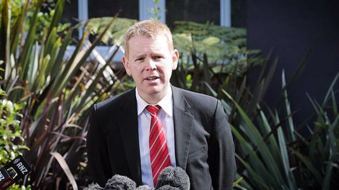 Education Minister Chris Hipkins visited Hato Petera College last week before deciding today to cancel its funding agreement with the state. Photo / File