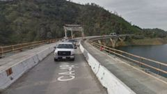 The trio were driving near the  James E. Roberts Memorial Bridge Sacramento in California when the crash happened on Wednesday. (Photo: Google Maps)