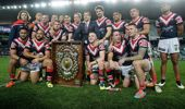 Mark Geyer has the Sydney Roosters as his favourite to take out the NRL title