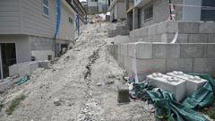The failed Bella Vista Homes development site at The Lakes in Tauranga. Photo / File