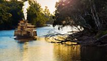 Mike Yardley: Echuca on the Murray River