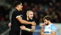 Rugby: All Blacks hold off potent Pumas performance