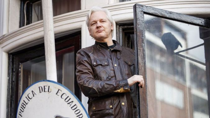 Over 2000 people have signed a petition calling for New Zealand to offer Mr Assange political asylum (Image / Getty Images)